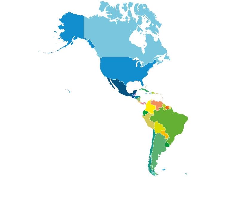 Kontinent Amerika
